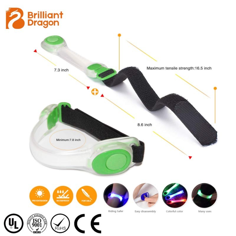 Led Safety night walking light with band